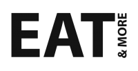 Eatandmore Logo Sort